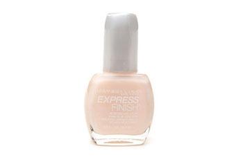 Maybelline Express Finish Advanced Wear nail polish in Blushing Bride, $3.29