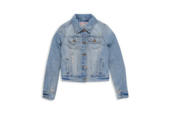 Faded denim jacket from Forever21.com, $28.50