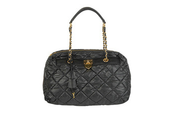Quilted tote bag from Forever21.com, $27.80