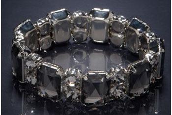Smokey rhinestone bracelet from AmericanEagle.com, $12.50