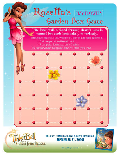 Tinker Bell and the Great Fairy Rescue Connect-the-Dots Activity