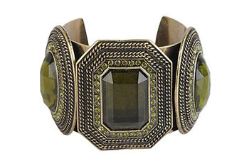 Antique ethnic cuff from Forever21.com, $8.80
