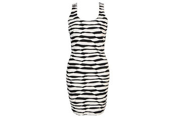 Rolling stripes dress from Forever21.com, $17.80