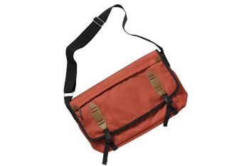 Red messenger bag from Gap.com, $39