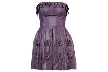 Bowed skirt shimmer dress from Forever21.com, $19.99