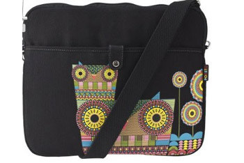 Poketo owls laptop bag from Target.com, $19.99