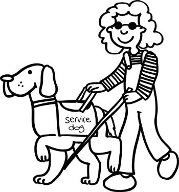 Service Dogs Help People Who Are Visually Impaired
