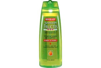 Garnier Fructis Sleek and Shine Shampoo and Conditioner, $3.49 ea