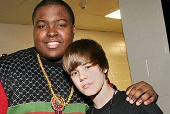 Sean Kingston and Justin Bieber