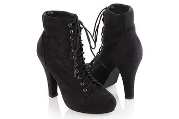 Combat suedette boots from Forever21.com, $32.80