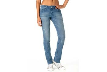 Morgan low-rise skinny jeans from Delias.com, $44.50