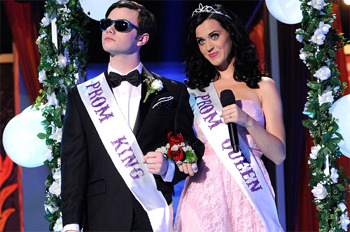 Katy Perry as Prom Queen