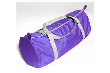 Nylon pack cloth gym bag from AmericanApparel.net, $17