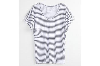 Kirra Vinyl black striped teeshirt from PacSun.com, $19.50