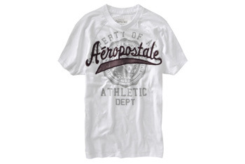 Scripted raglan graphic tee from Aeropostale.com, $10