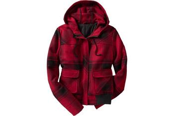 Wool-blend bomber jacket from OldNavy.com, $59.50