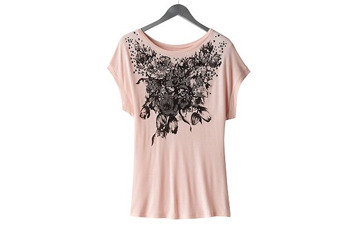 Candie's studded floral tshirt from Kohls.com, $18