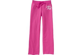 Logo fleece pants from OldNavy.com, $12.99