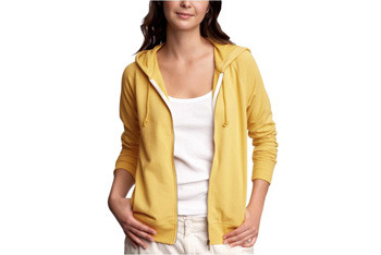 Classic hoodie from Gap.com, $19.99