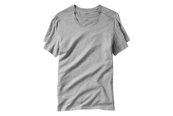Short sleeve crew neck tee (2 pack) from Gap.com, $19.50
