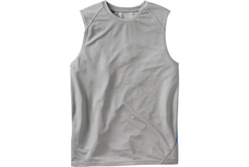 Color-blocked rec-tech muscle tee from OldNavy.com, $7.50