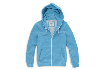 Athletic zip-up hoodie from Forever21.com, $23.90