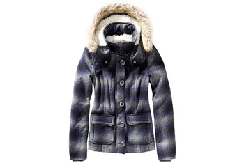Plaid bomber jacket from GarageClothing.com, $59.90