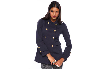 Double breasted coat from Forever21.com, $32.80