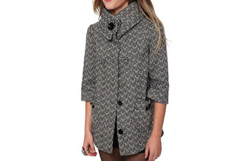 Tweed swing coat from Forever21.com, $34.80