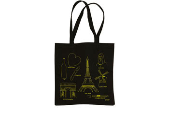 Paris Highlight Reel Tote in Midnight from ModCloth.com, $19.99