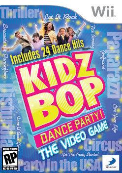 Kidz Bop Dance Party Wii