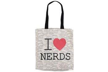 I Love Nerds cotton mini-tote from Forever21.com, $5.80