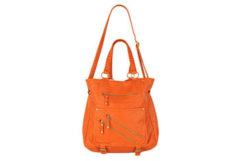 Worn large leatherette tote from Forever21.com, $32.80