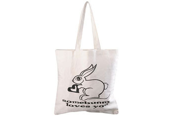 Somebunny Love You tote bag from Forever21.com, $3.50