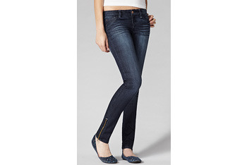 Jeggings with leg zippers from GarageClothing.com, $36.90