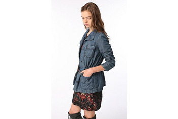 Ecote surplus denim jacket from UrbanOutfitters.com, $68