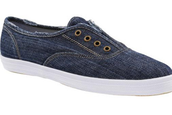 Denim Keds slip on sneakers from Gap.com, $39