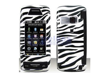 Black with White Stripes ZEBRA Case cover for Brand LG Voyager VX10000 from Amazon.com, $24
