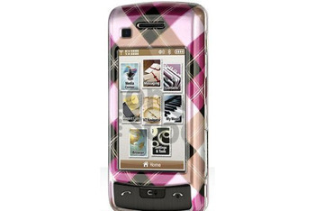 Burberry Style Checkbox Cherked Pink Brown cover for LG VX11000 Voyager 2 from Amazon.com, $7