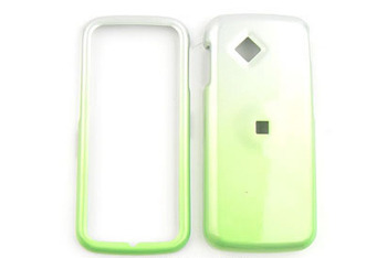 Snap-On protector in Green and white for LG100 from MyCoolCell.com, $11