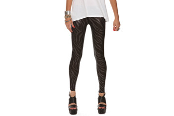 Metallic pindot leggings from Forever21.com, $15.80