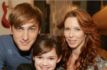 Challen and Kendall meeting a fan