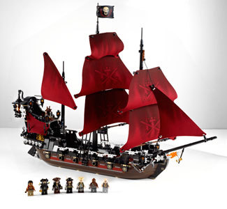 Queen Anne's Revenge from LEGO's Pirates of the Caribbean Collection