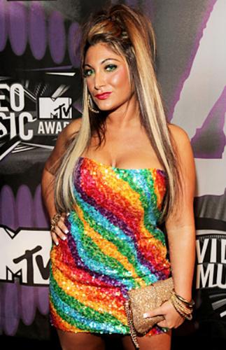Deena Cortese looks like Rainbow Bright