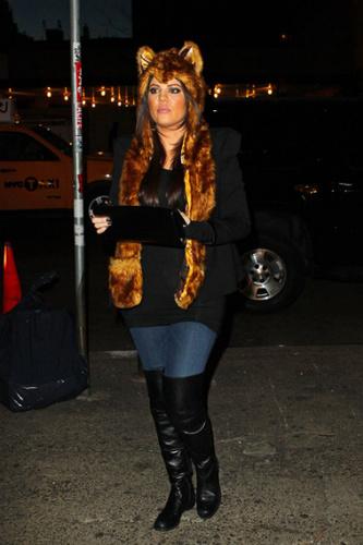 Khloe Kardashian shows her wild side