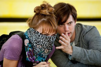 Jackson Rathbone and Aimee Teegarden in Aim High