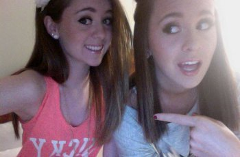 Megan and Liz found fans for their music online
