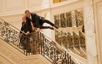 No time to waste on stairs. Justin Timberlake stars as Will Salas