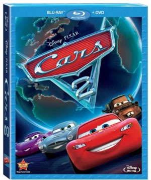 Cars 2 Blu-ray DVD