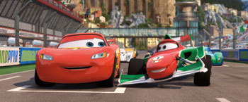 Lightning McQueen and Francesco Bemoulli